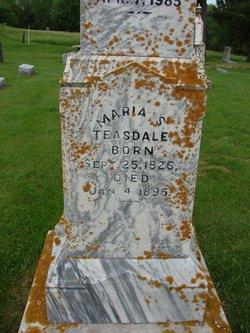 Maria <i>Smith</i> Teasdale