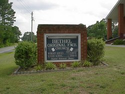 Bethel Original Freewill Baptist Church Cemetery