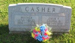 Lena E <i>Sigel</i> Casher