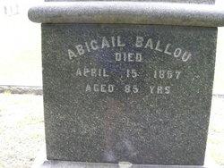 Abigail Ballou
