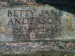 Betty Jane Anderson