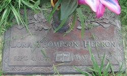 Lora <i>Thompson</i> Herron