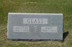 Christine <i>Scherr</i> Glass