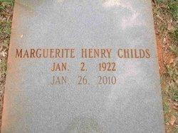 Marguerite <i>Henry</i> Childs