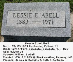Dessie E Abell