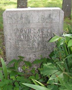Arvillar C. Bohannon