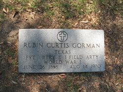 Alfonso Rubin Curtis Gorman