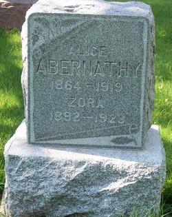 Alice Rachel <i>Clark</i> Abernathy