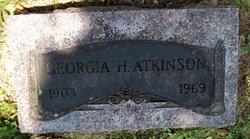 Georgia H Atkinson
