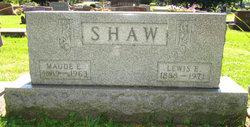 Maude E Shaw