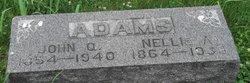 Nellie A <i>Alexander</i> Adams