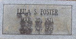 Leila S Foster