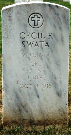 Corp Cecil F Swata