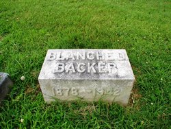 Blanche Louise <i>Dickbrader</i> Backer
