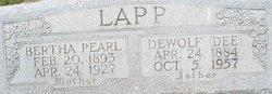 DeWolf Dee Lapp
