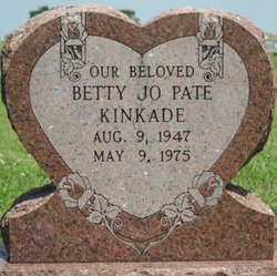 Betty Jo <i>Pate, Scholten</i> Kinkade