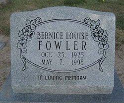 Bernice Louise <i>Deaver</i> Fowler