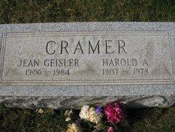 Jean <i>Geisler</i> Cramer