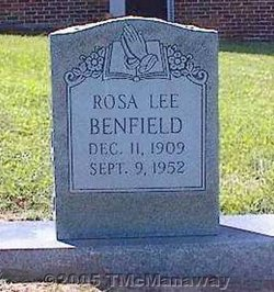 Rosa Lee Benfield