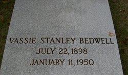 Vassie <i>Stanley</i> Bedwell