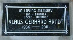 Klaus Gerhard Arndt