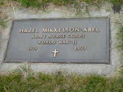 Hazel <i>Mikkelson</i> Abel
