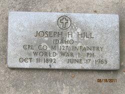 Joseph Hail Hill