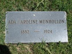 Ada Caroline Munhollon