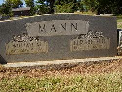 Elizabeth J. Lizzie <i>Durham</i> Mann