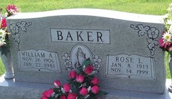 Rose Lee <i>Winebrenner</i> Baker