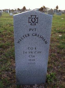 Walter Gresham