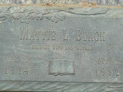 Mattie Lee <i>Underwood</i> Black
