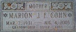 Marion Joyce <i>Edelstein</i> Cohn