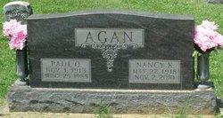Nancy Katherine <i>Isaacs</i> Agan