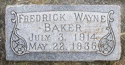 Fredrick Wayne Baker