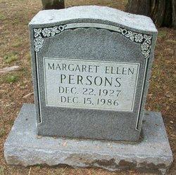 Margaret Ellen Persons