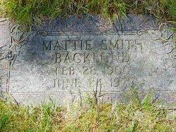 Martha J Mattie <i>Christian</i> Backlund