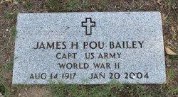Capt James Hinton Pou Bailey
