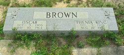 Thenia <i>King</i> Brown