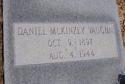 Daniel McKinzey Mack Vaughn