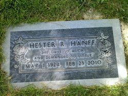 Hester Hanff