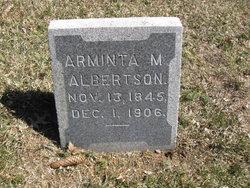 Arminta M <i>Miller</i> Albertson