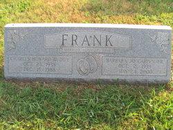 Barbara Jo <i>Carpenter</i> Frank
