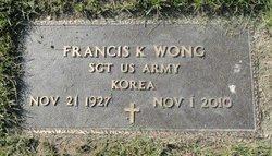 Sgt Francis K. Wong