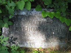 Martha Jane <i>Meek</i> Blanton