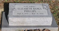 Elizabeth Norma <i>Bangs</i> Phillips