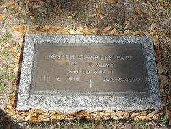 Pfc Joseph Charles Papp