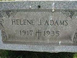 Helene J Adams
