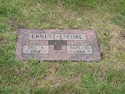 Ernest E Ernie Fore