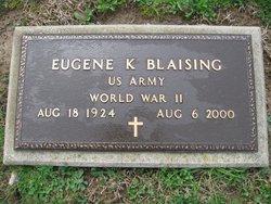 Eugene K Blaising